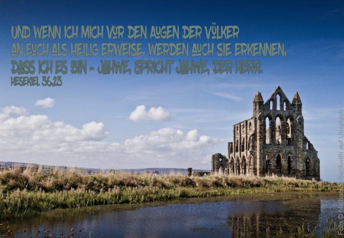 alte Kirchenruine
