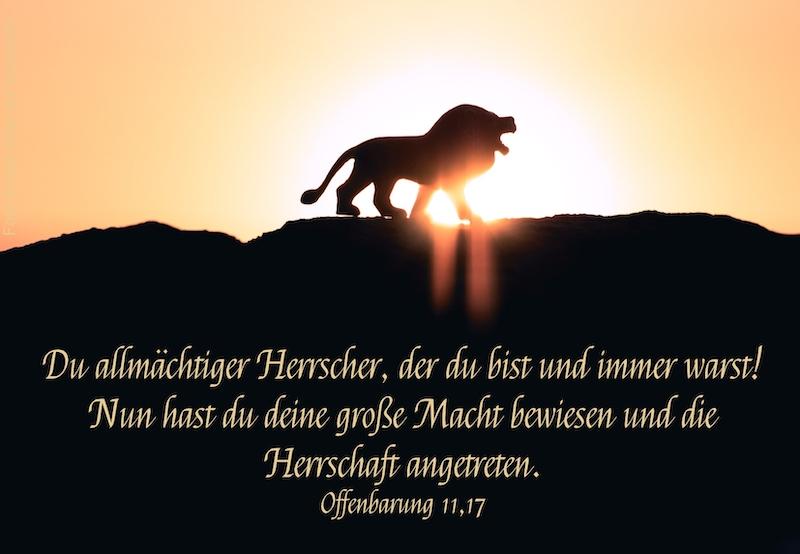 brüllender Löwe