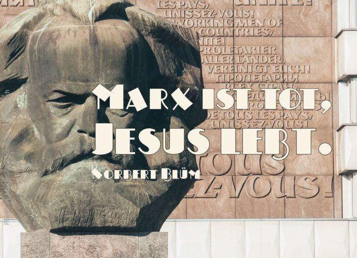 Steinkopf von Karl Marx