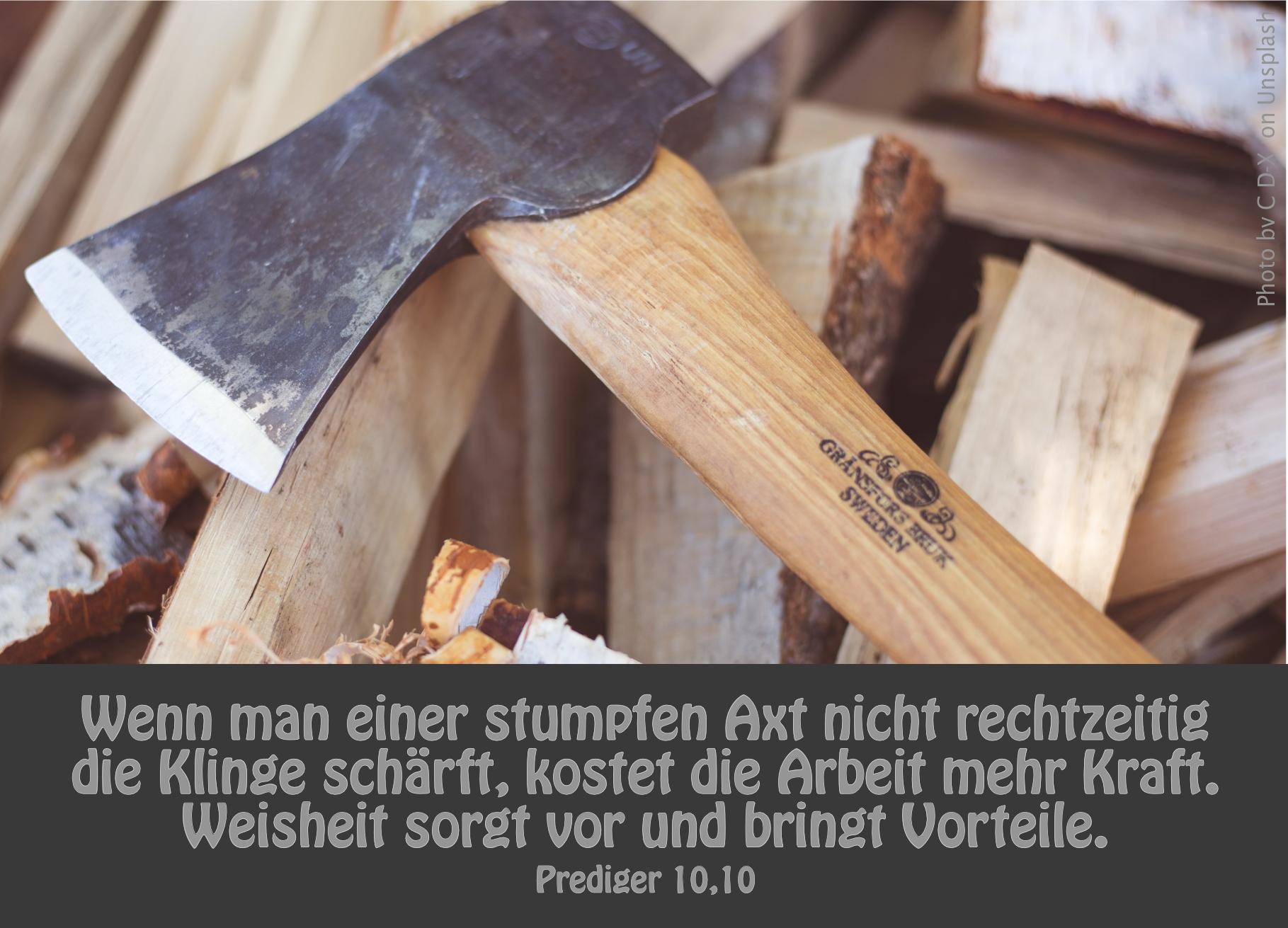 """alt=""""axt_auf_holz_erwartet_bibelhoerbuch_weisheiten_und_schlussgedanken"""""""