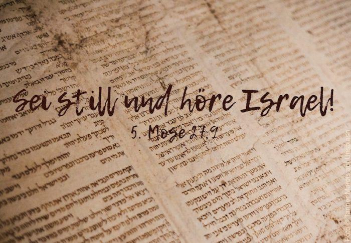 Thora mit hebräischem Text