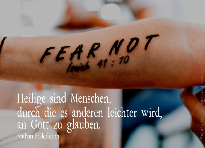 Tattoo: Fear not - Isaiah 41:10