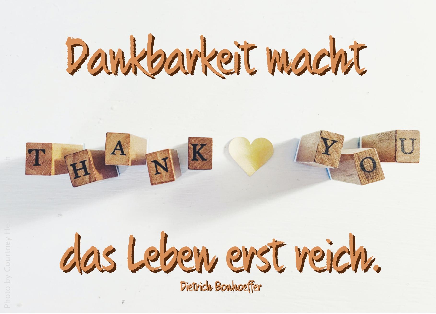 Buchstabenwürfel bilden Thank You