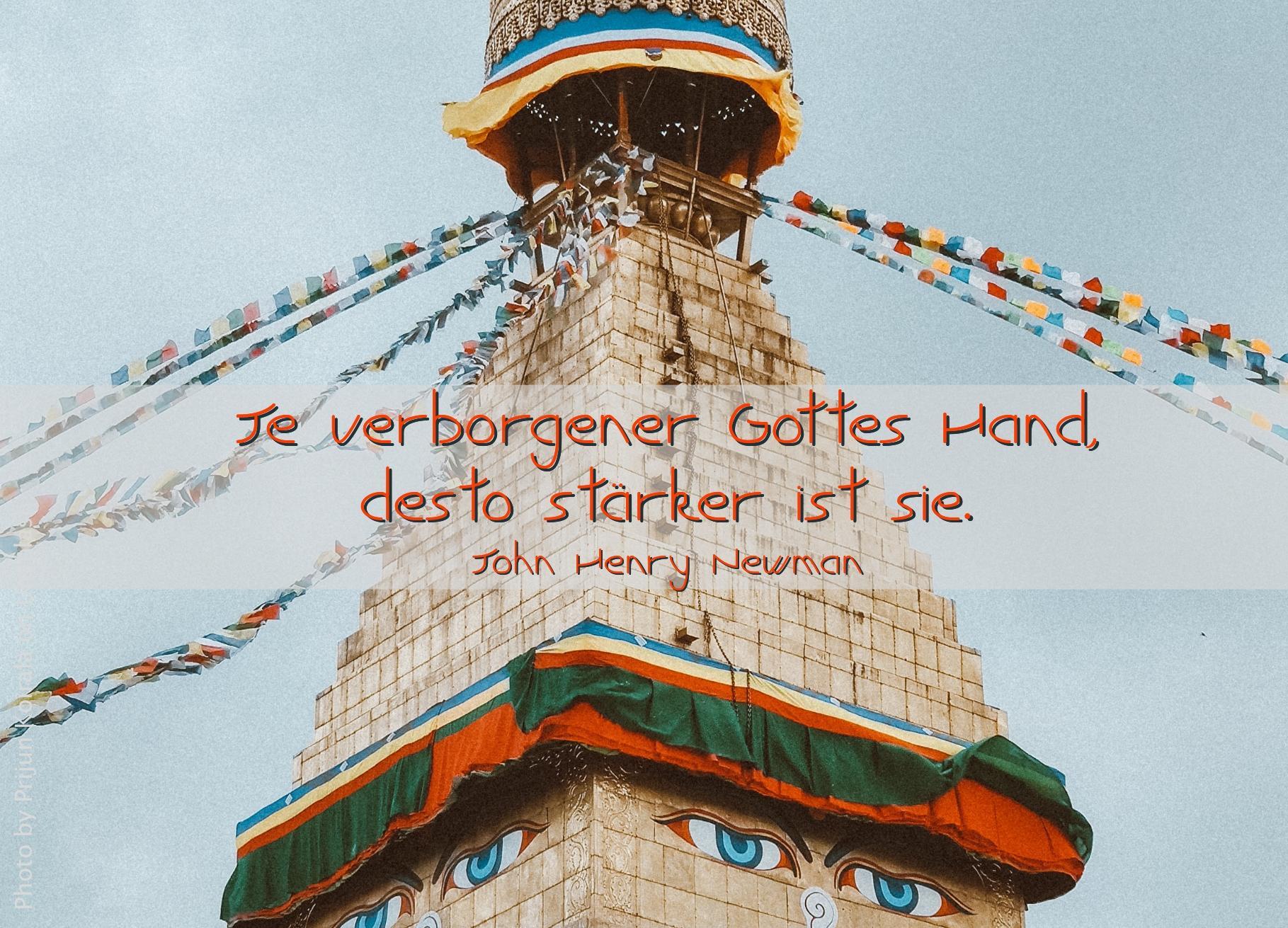 Turm eines tibetischen Tempels