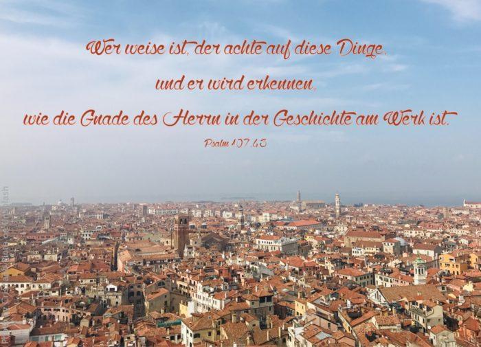 Venedig aus der Vogelperspektive