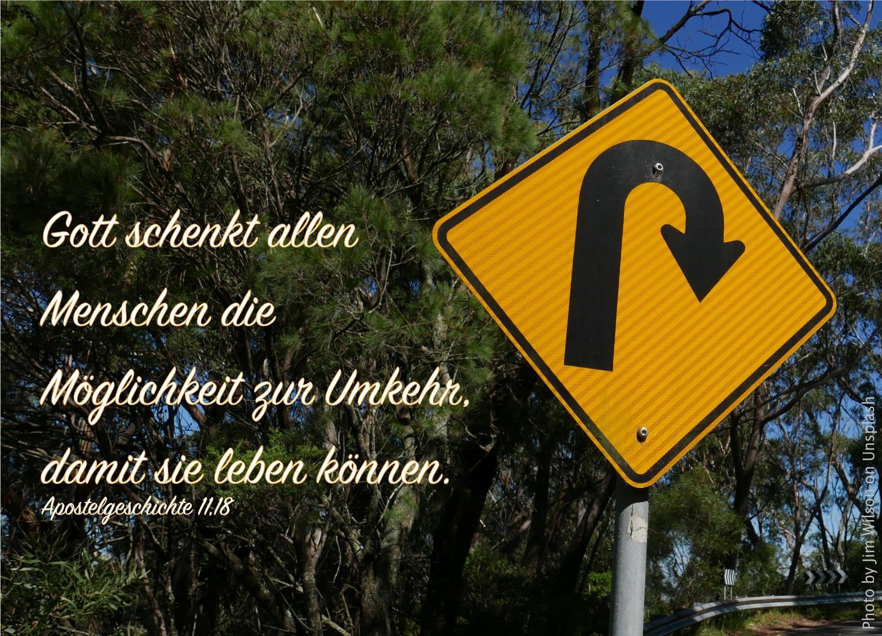 """alt=""""strassenschild_u-turn_erwartet_bibelhoerbuch_gemeinde_in_antiochia"""""""
